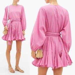 NEW Rhode Resort Ella Mini Dress in Prism Pink